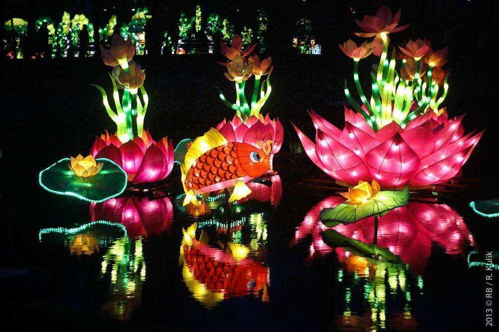 Фестиваль Китайских фонариков в Роттердаме