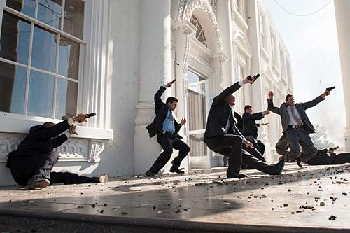 Кадр из фильма «Падение Олимпа».