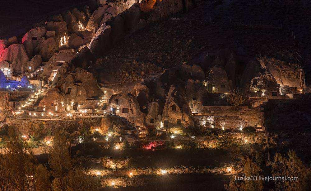 Деревня Кандован, Иран