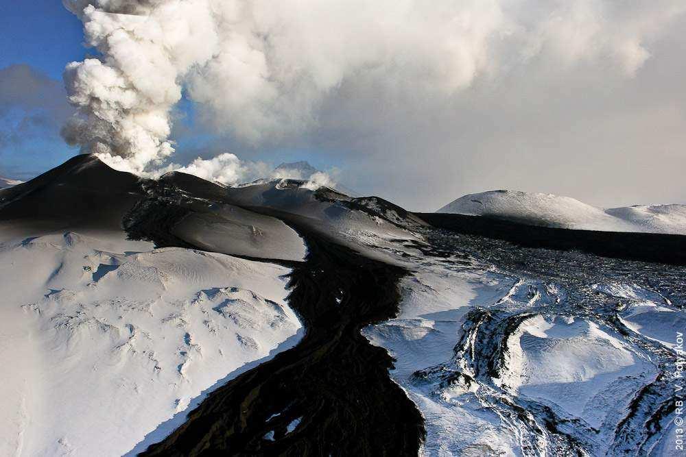 русский вулкан