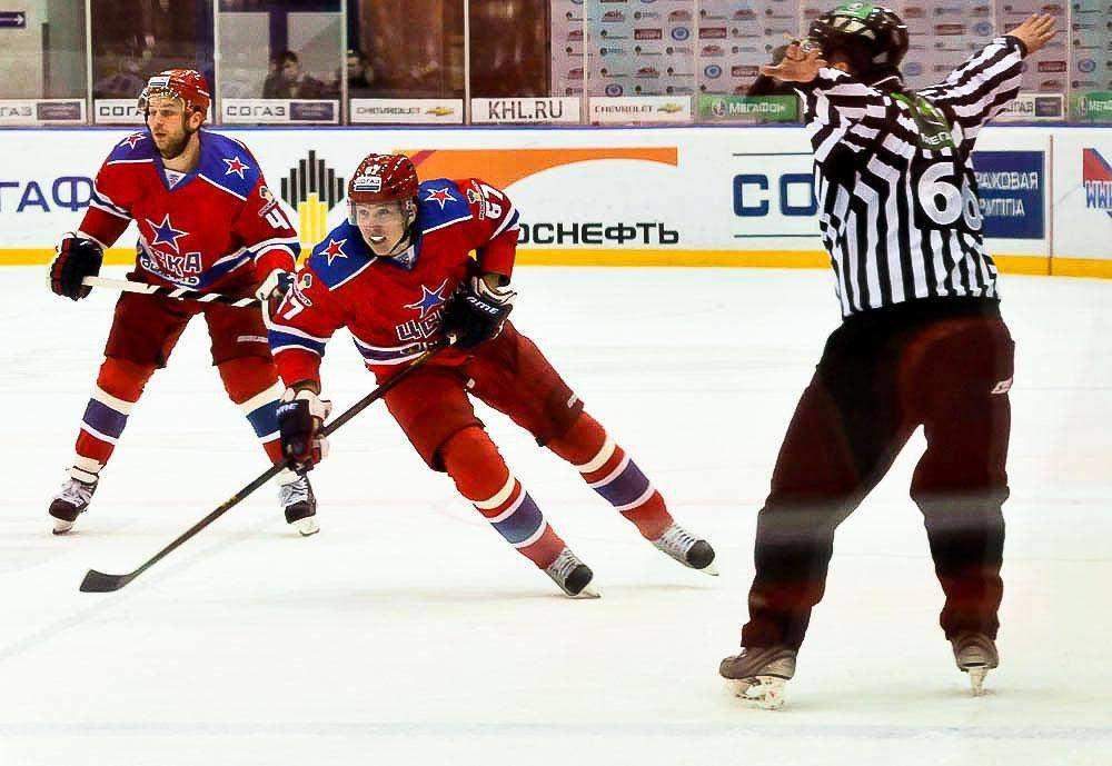 КХЛ: ЦСКА-Северсталь