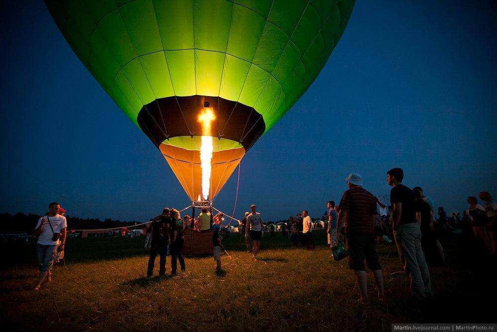 «Нашествие» 2013: воздушные шары