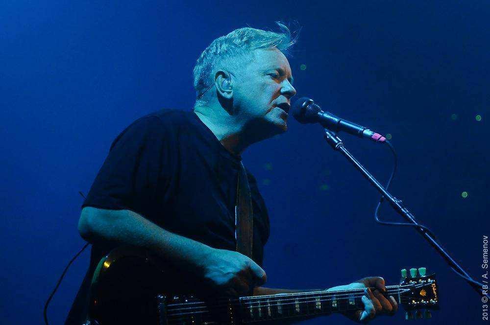Манчестерская группа New Order посетила Москву