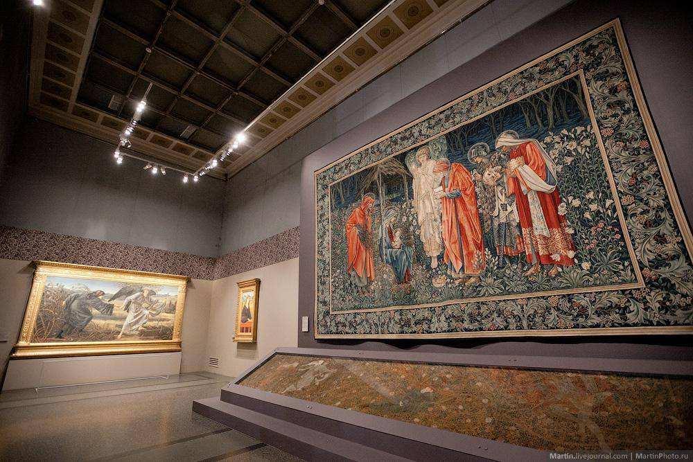Открытие выставки Прерафаэлиты: викторианский авангард