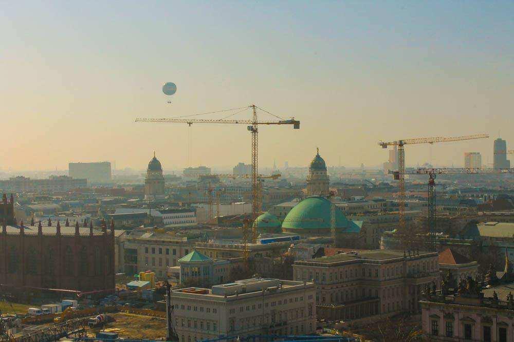 Берлин свысока