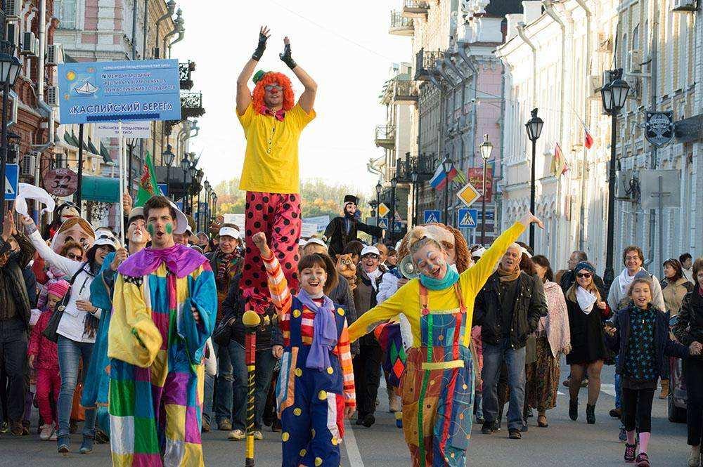 Фестиваль театров кукол в Астрахани