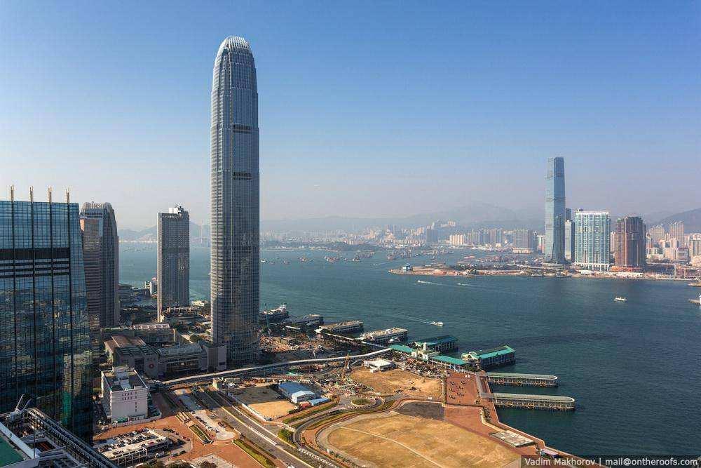 Гонконг с высоты