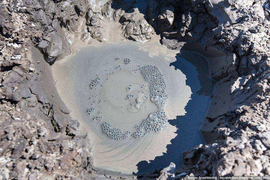 Грязевые вулканы в Крыму