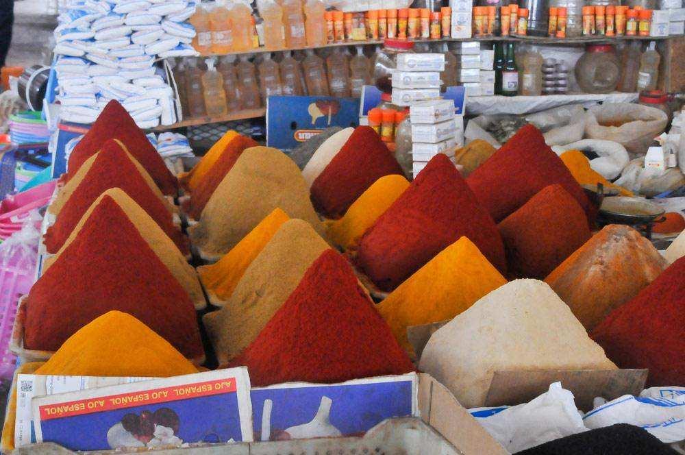 Рынок в Агадире и Марракеше
