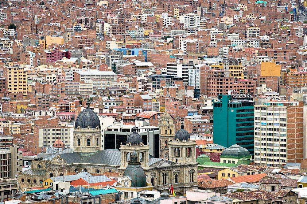 Ла-Пас. Боливия
