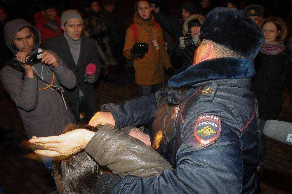 Задержание Сергея Мохнаткина