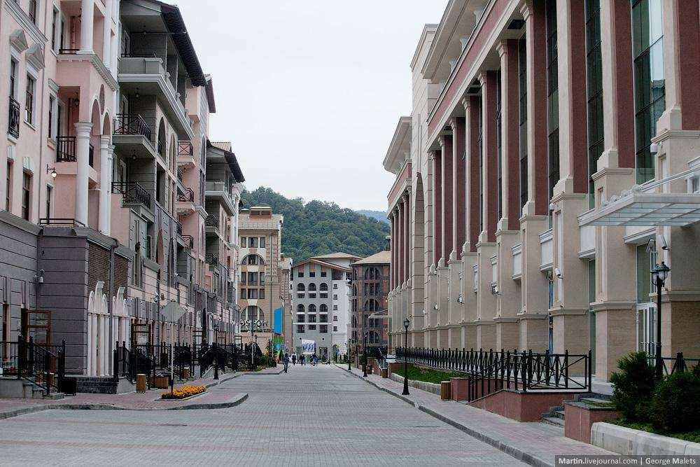 Олимпийские города сегодня