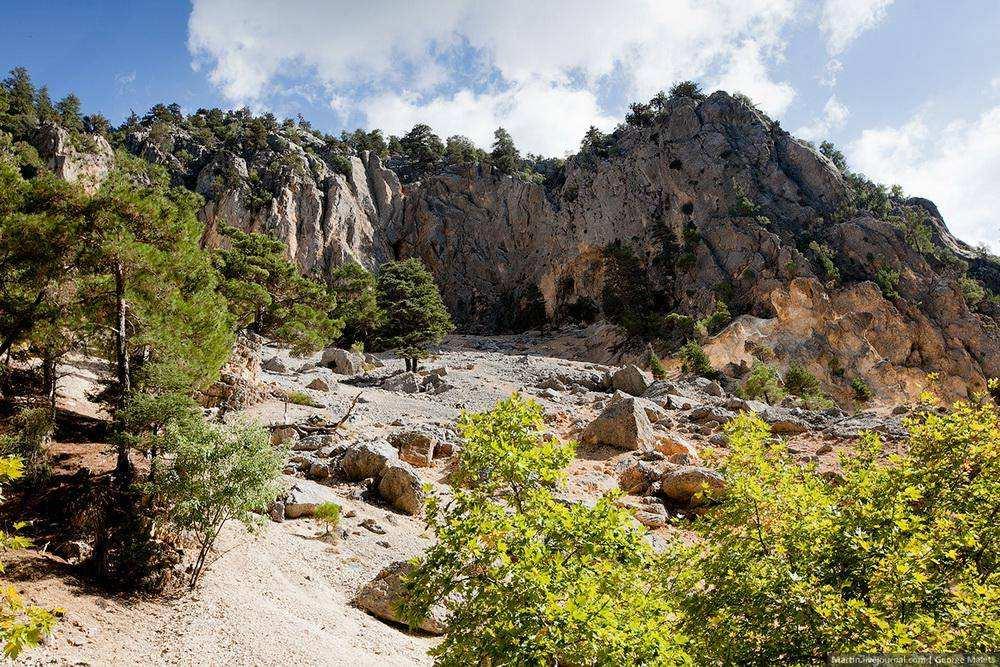 Преодоление турецкого каньона
