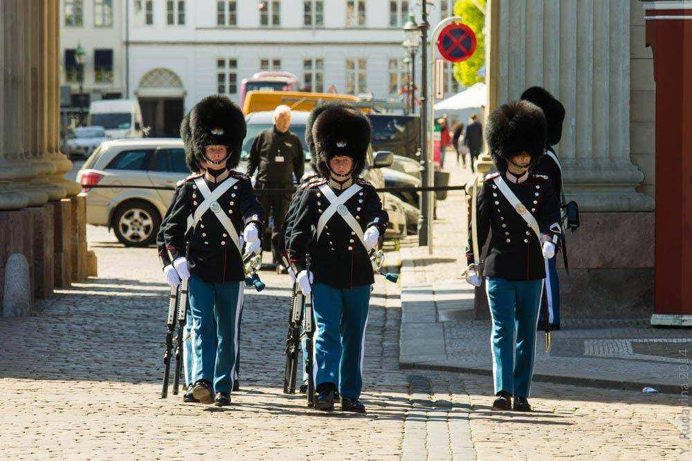 Смена караула в Копенгагене