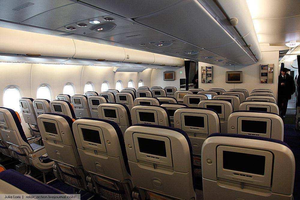 A380 самый большой пассажирский самолет