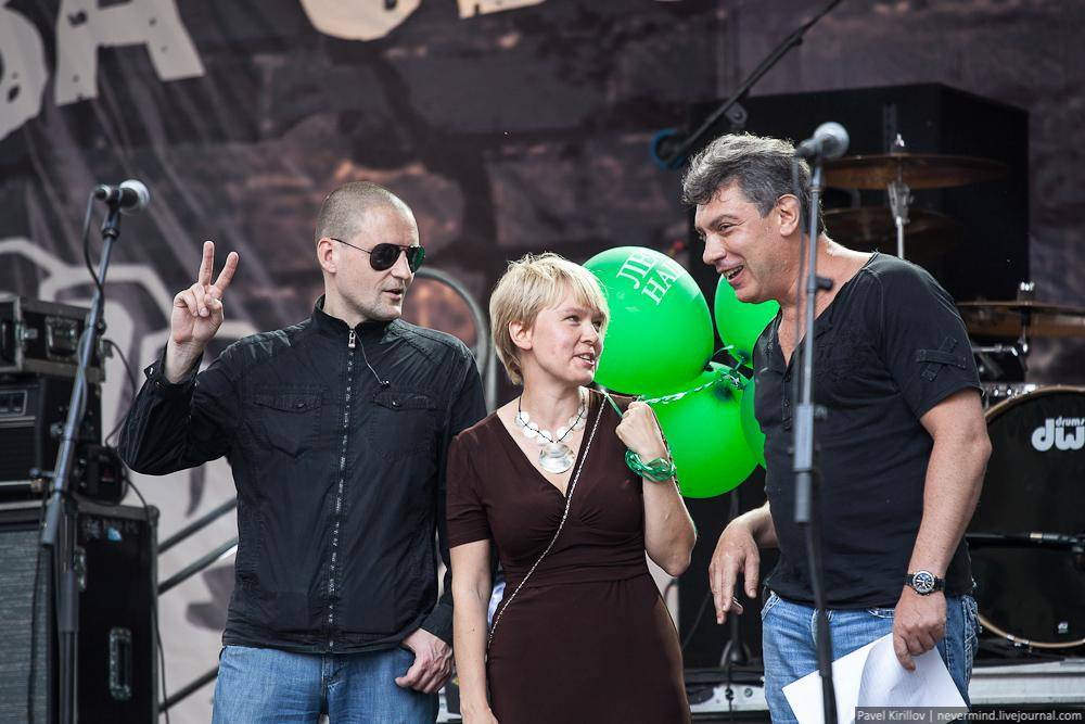 Удальцов. Чирикова. Немцов. Марш миллионов 12 июня 2012 года