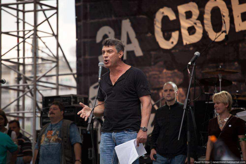 Борис Немцов. Марш миллионов 12 июня 2012 года