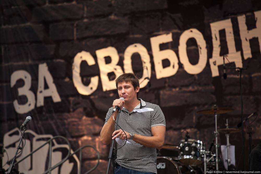 Дмитрий Гудков. Марш миллионов 12 июня 2012 года