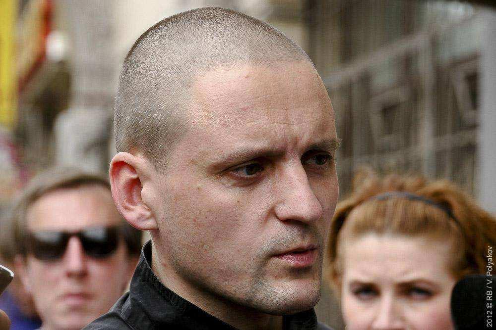 Сергей Удальцов прибыл на оргкомитет марша миллионов