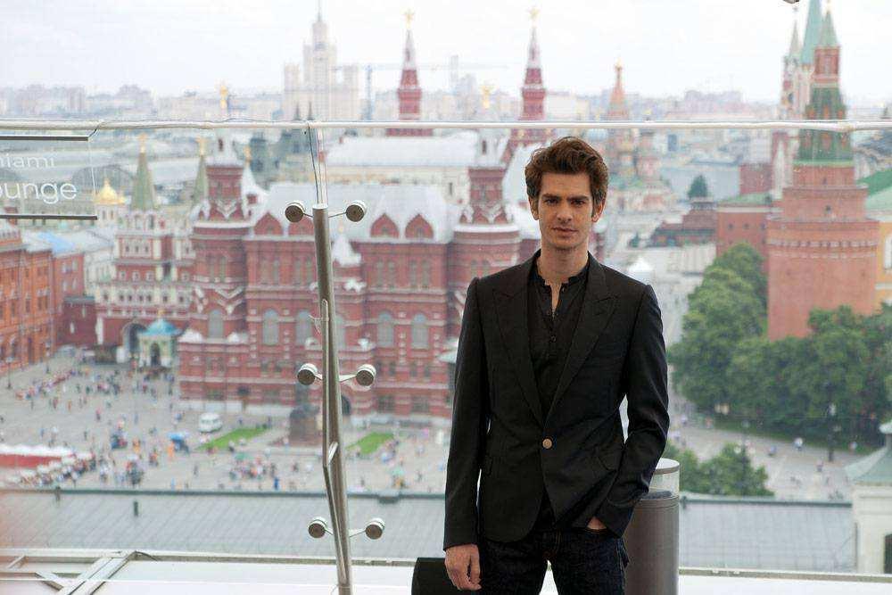 Человек-паук приехал в Москву