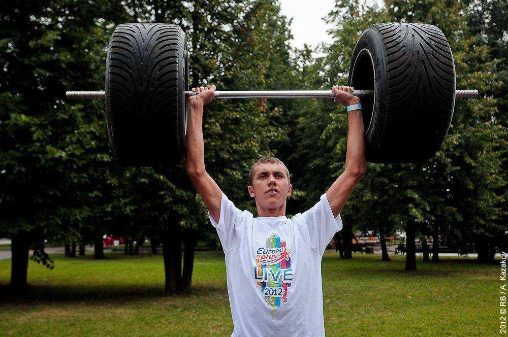 Фестиваль московского спорта в Лужниках