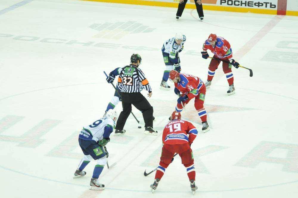 Хоккей. ЦСКА-Югра