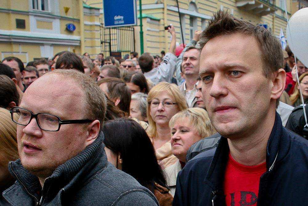Олег Кашин и Алексей Навальный. Третий Марш миллионов 15 сентября
