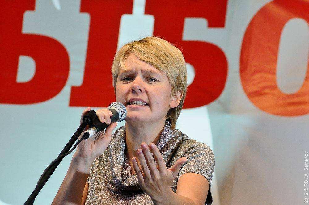 Евгения Чирикова. Третий Марш миллионов 15 сентября