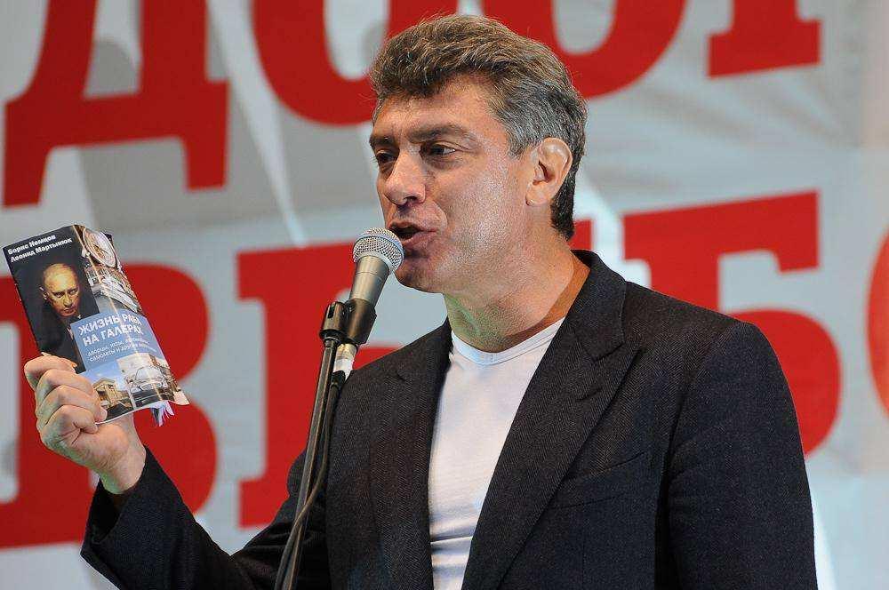 Борис Немцов. Третий Марш миллионов 15 сентября
