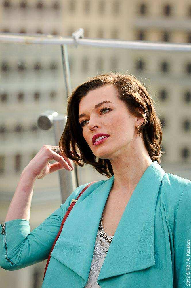 Милла Йовович в Москве
