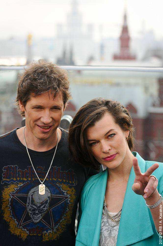 Мила Йовович в Москве