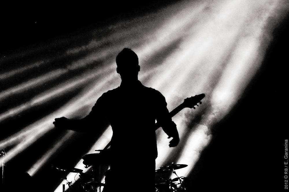 Troy Harley на разогреве у Nickelback