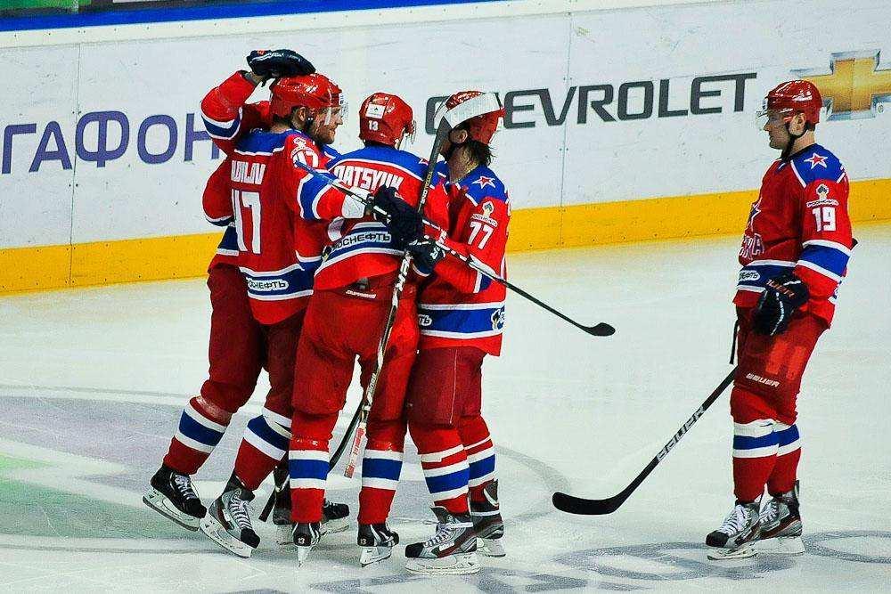 Питерский СКА разгромил московский ЦСКА