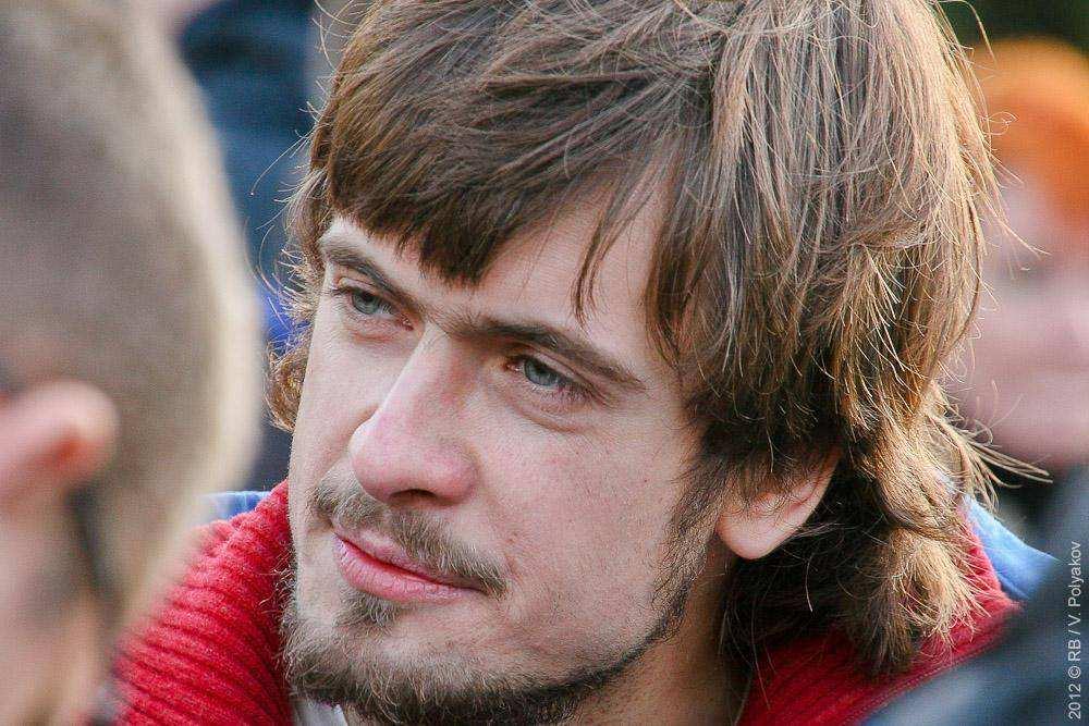 Петр Верзилов. Митинг оппозиции в поддержку выборов в КС
