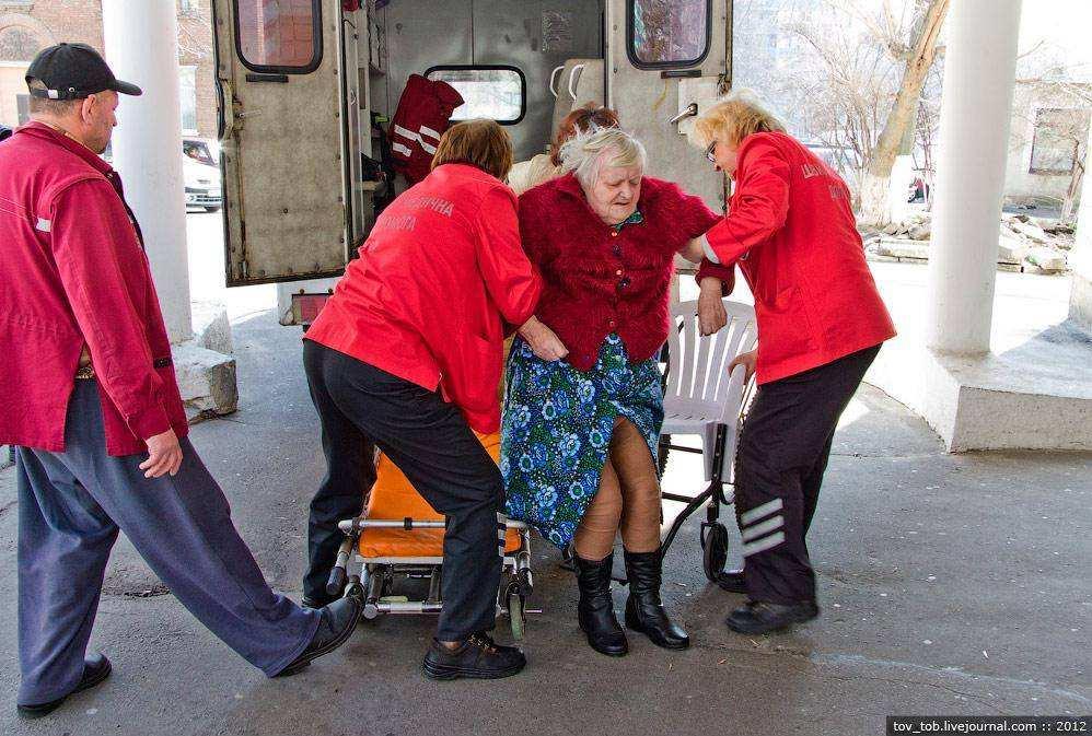 Будни скорой помощи