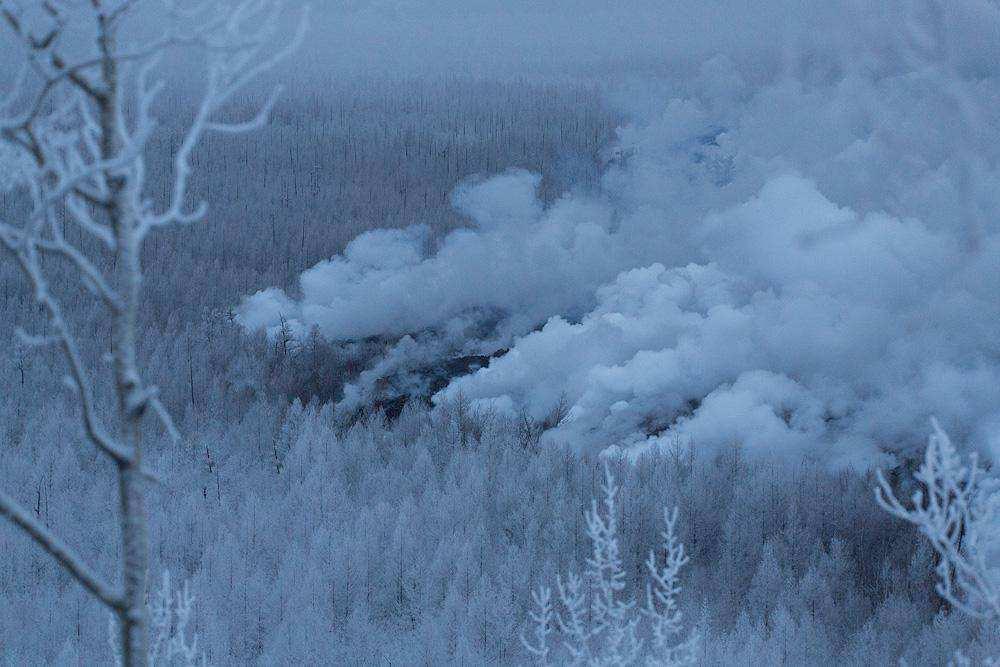Новое Трещинное Толбачинское Извержение