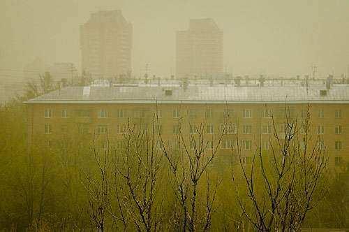 Москву накрыло