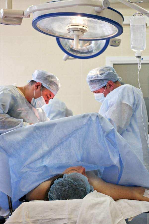 Операция кесарево сечение