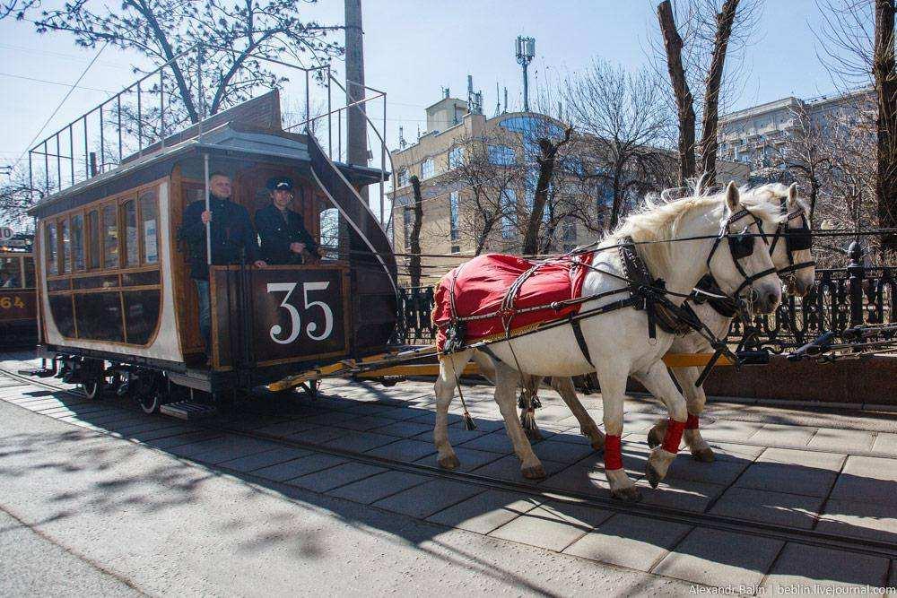 166 лет трамваю