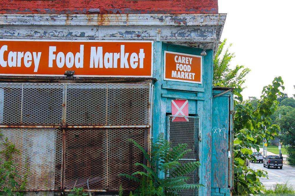 Заброшенный супермаркет