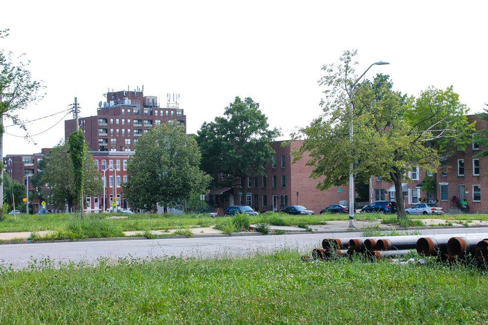 Балтиморское гетто