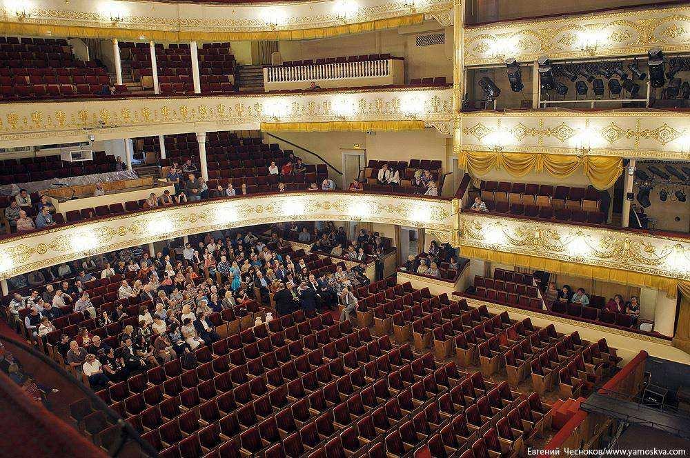 Московский театр оперетты схема зала