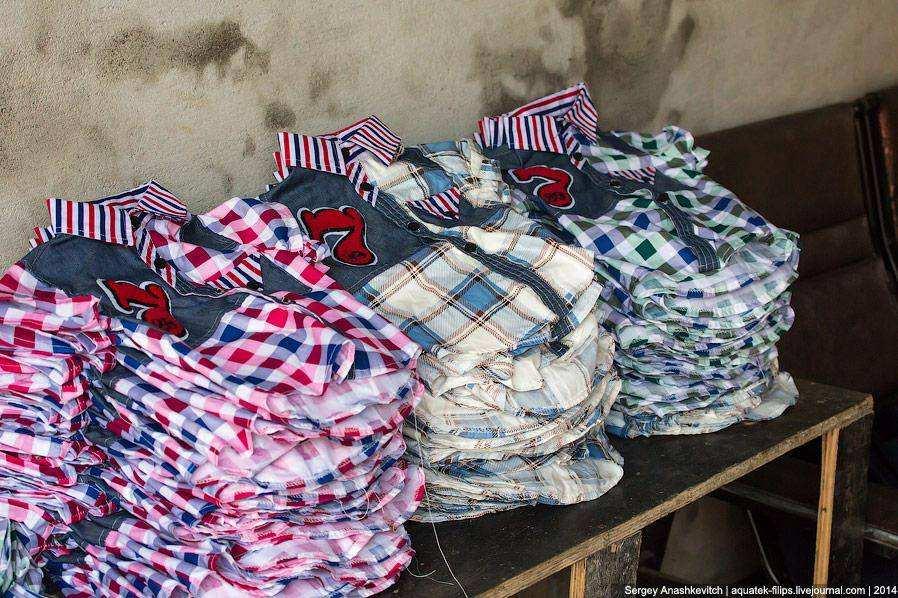 Одежда детская из китайских фабрик
