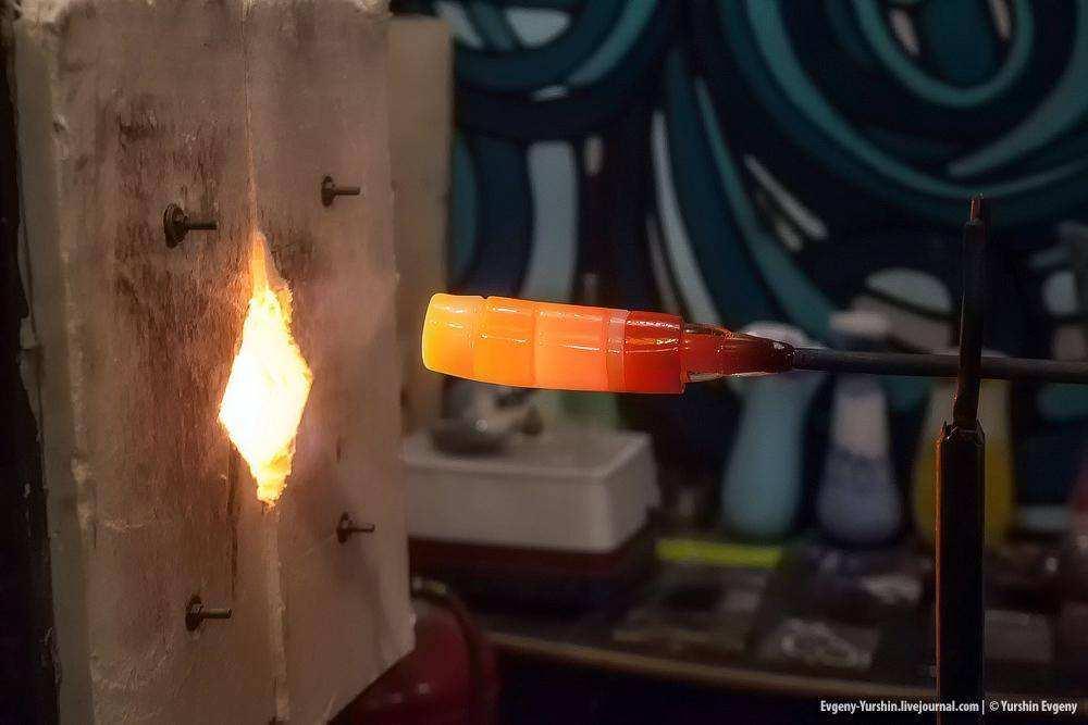 Мастерская стеклодува