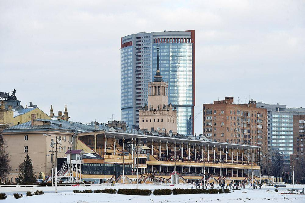 Чемпионат «Московская зима» на ипподроме