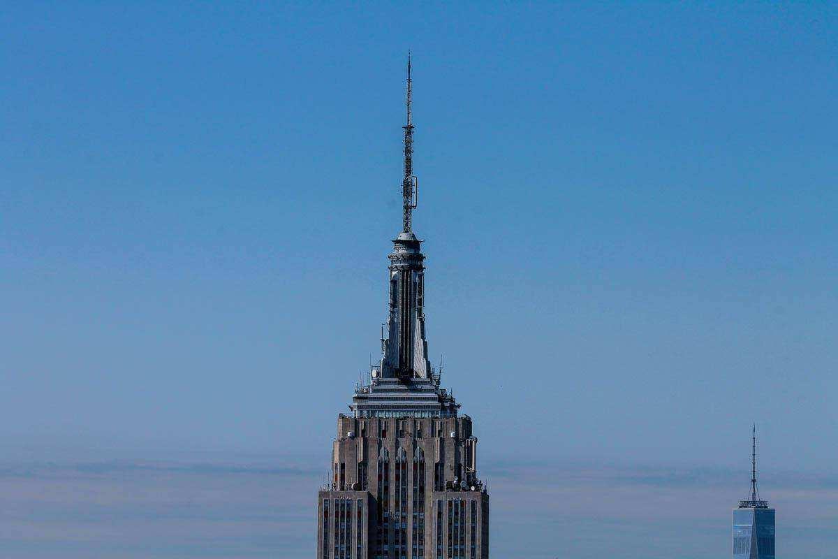 Нью-Йорк с высоты