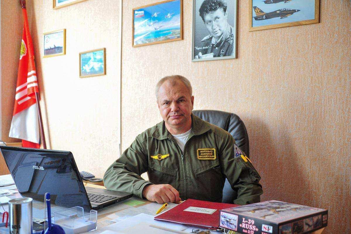 В гостях у пилотажной группы Русь