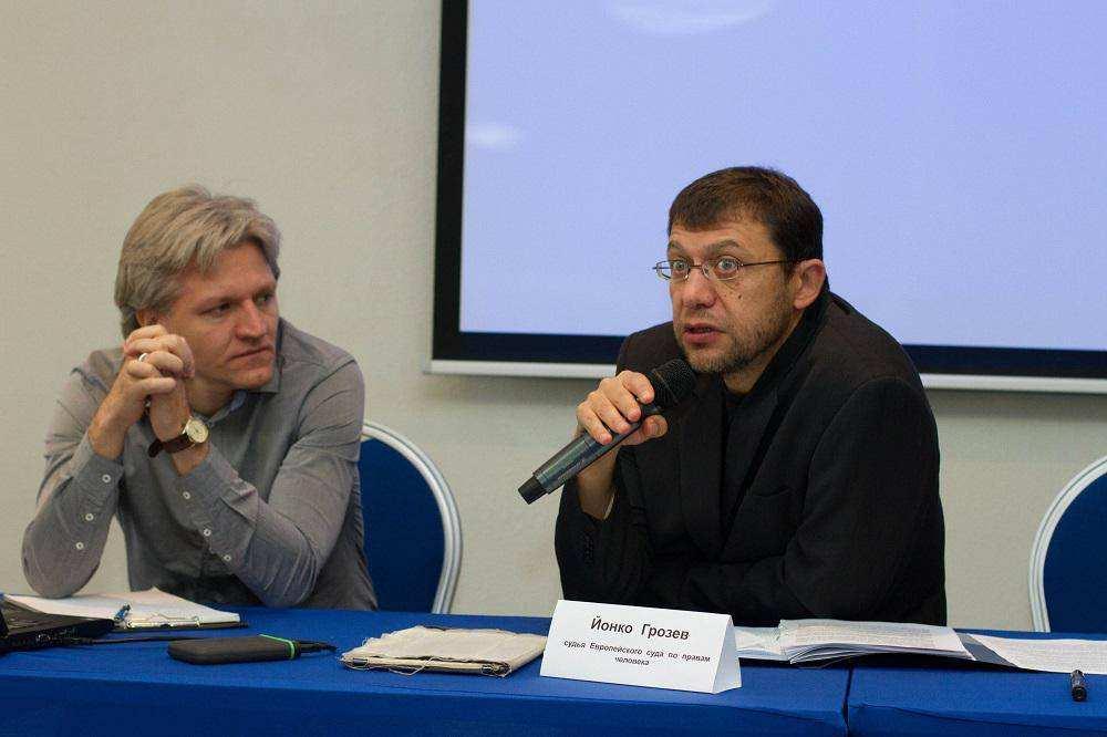 Йонко Грозев, судья Европейского суда по правам человека