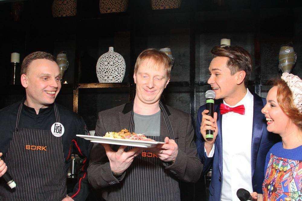 Звезды шоу-бизнеса нашли кулинарный рецепт счастья