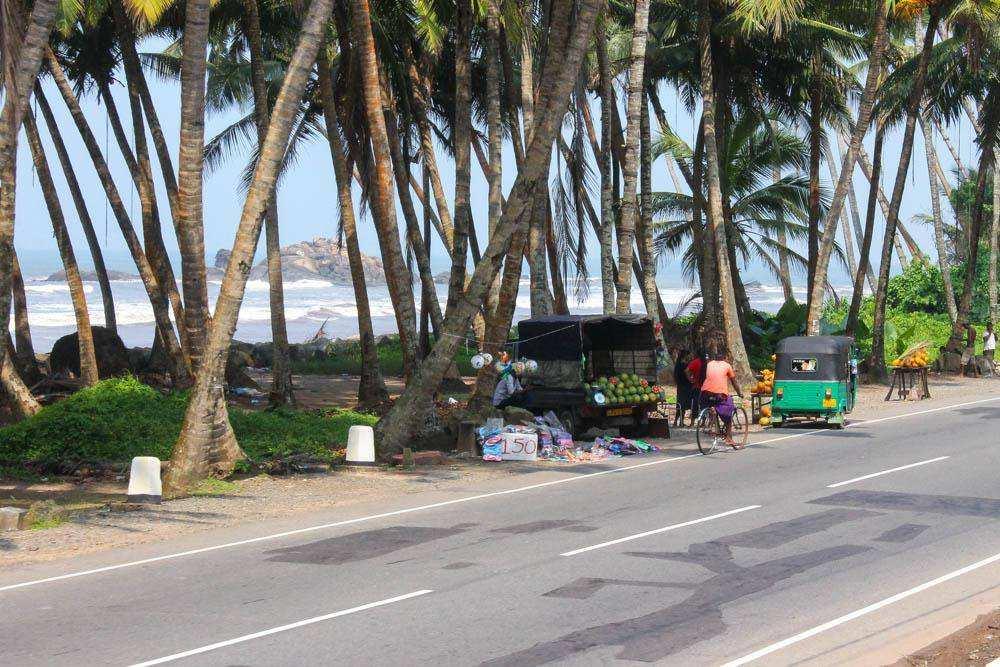 Шри-Ланкийский поезд